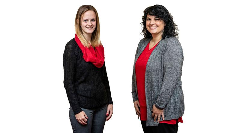 True Insurance Receptionists - Hannah and Stephanie